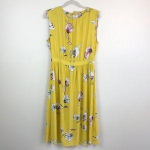 Zara Floral Print Summer Spring Dress